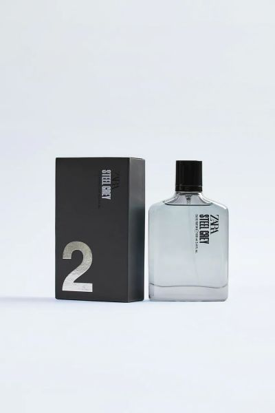 STEEL GRAY 100ML زارا ZARA عطر مردانه STEEL GRAY
